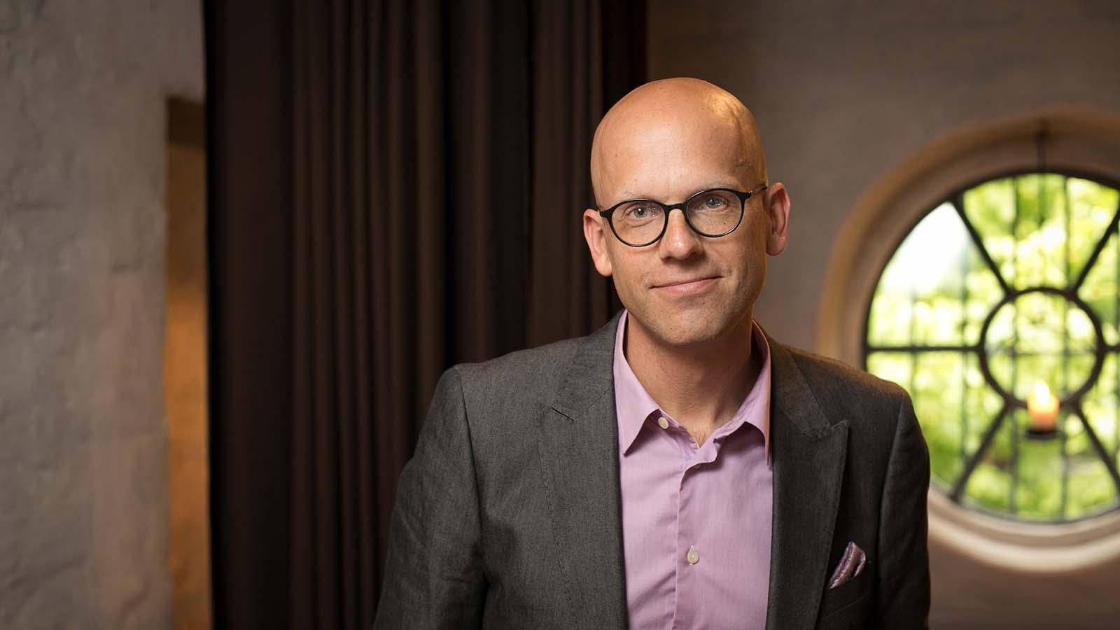 Andreas Ekström personporträtt..