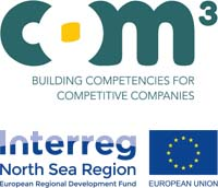 COM3 – Building Competences for Competetitive Companies logo.