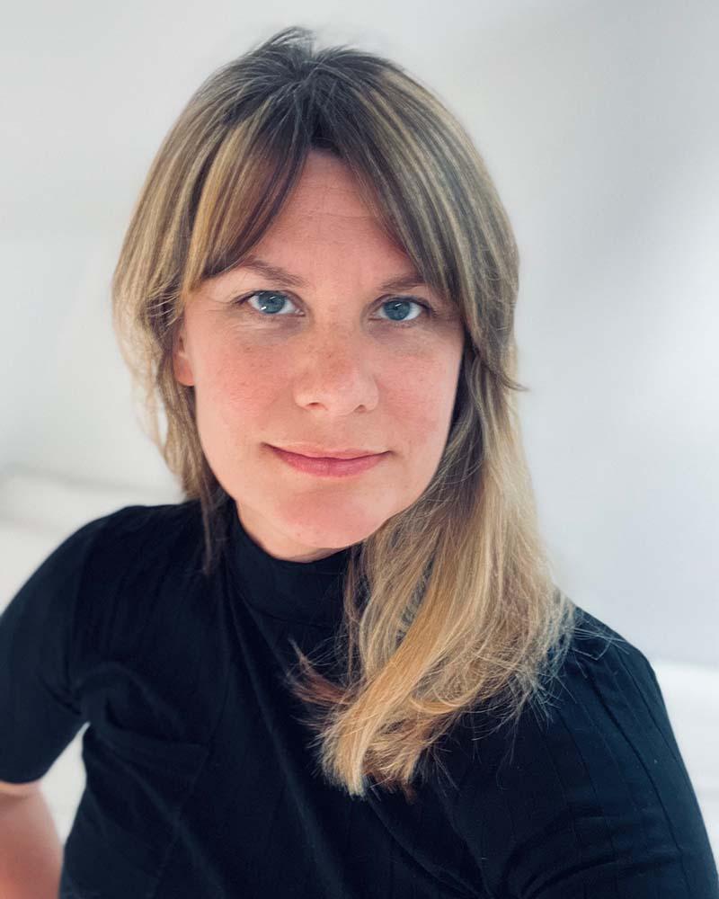 Jennifer Grönqvist, porträtt.