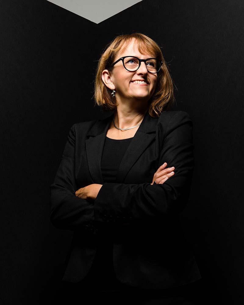 Marie Nilsson, porträtt.