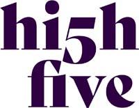 High Five Framtidsarena logotyp.